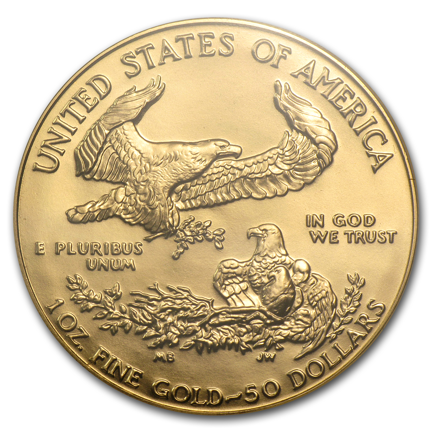 1990 1 oz Gold American Eagle MS-69 NGC